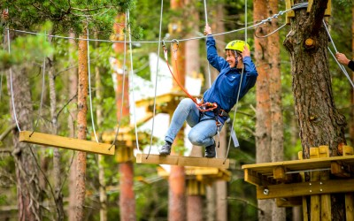 Ny klatrepark har Våler Kickoffsenter