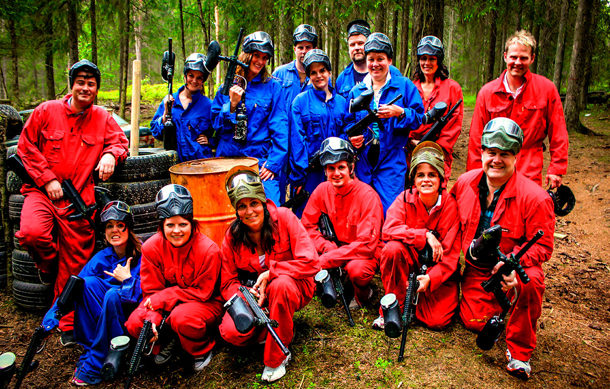 PAINTBALL AKTIVITETSPAKKE